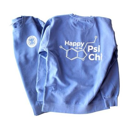 Psi Chi Crew neck Sweatshirt