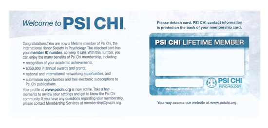 Picture of Membership Card – Name Change