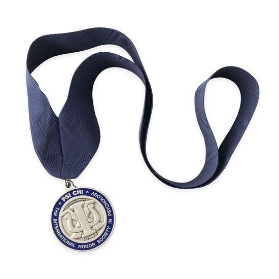 Psi Chi Platinum Medallion