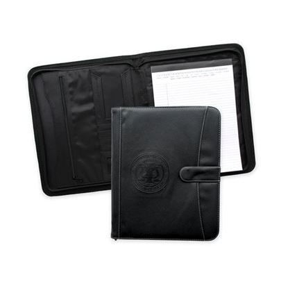 Picture of Pebble Grain Zippered Portfolio
