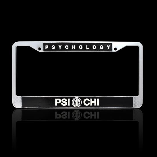 Picture of Psi Chi License Plate