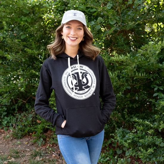 Picture of Psi Chi Hoodie-Black
