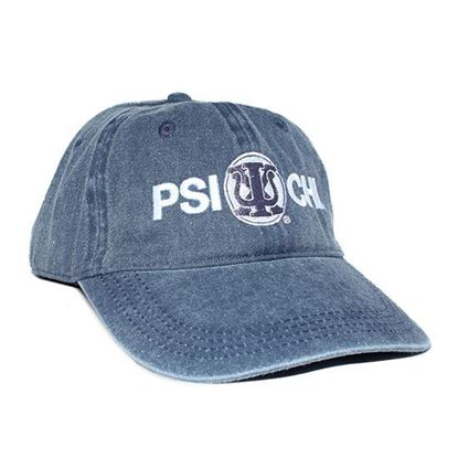 Psi Chi Baseball Cap in Blue